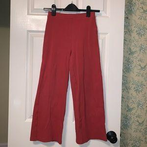 NA-KD Ribbed Culotte Pants - LAST CALL